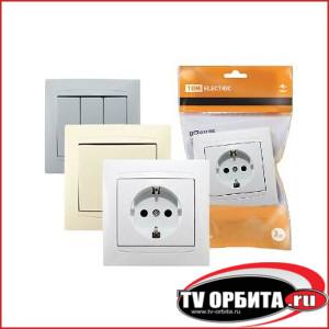 Электроустановочные изделия серии Лама