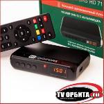 Приставка цифрового ТВ (DVB-T2) DIGIFORS HD71